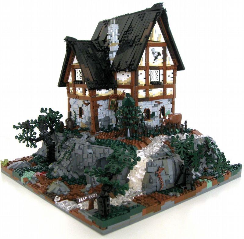 Lego Medieval House lom uc: troublethe innhalhi 141 on mocpages | lego