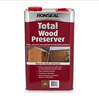 Ronseal Total Wood Preservative Home Buildingrepair Or Rebuild