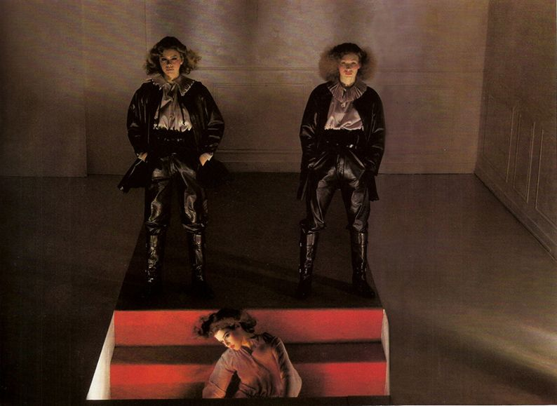 Gianni Versace for Genny, Vogue Paris 1977