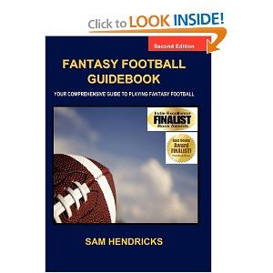 fantasy football guidebook your comprehensive guide to playing rh pinterest com