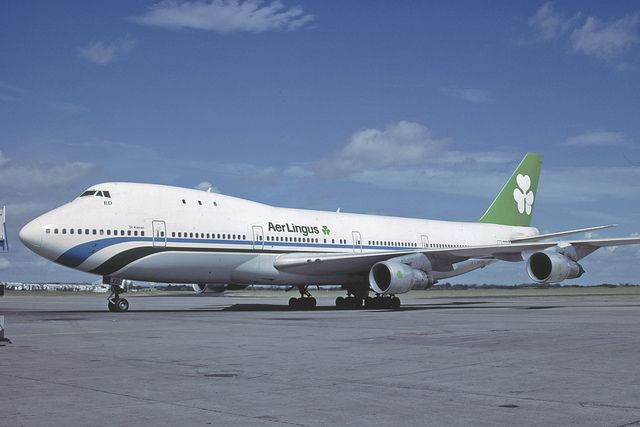 B747 130 Ei Bed Aer Lingus With Images Boeing Aircraft Boeing