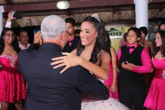 Creative quinceanera themes for your daughter - Father and daughter quinceanera dance