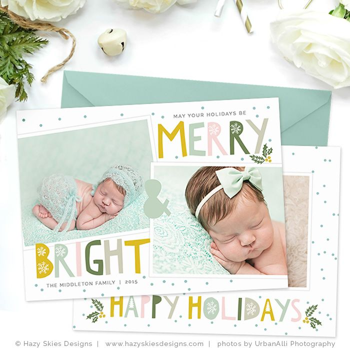 Holiday Card Template  Happy Holidays  Card Templates Template