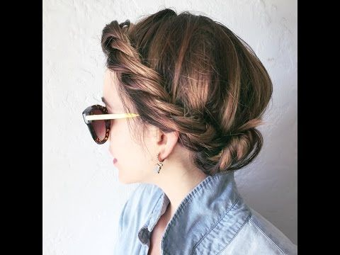 Easy 2 Strand Braid That Anyone Can Do Youtube Beauty In 2019