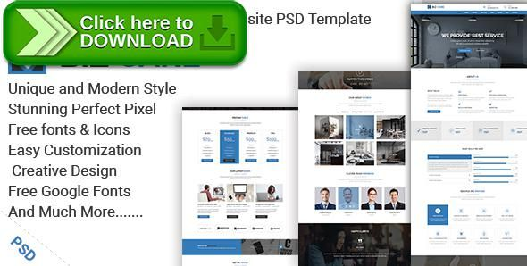 Free nulled biz care one page business website psd template themeforestfree nulled download biz care one page business website psd template from wajeb Choice Image