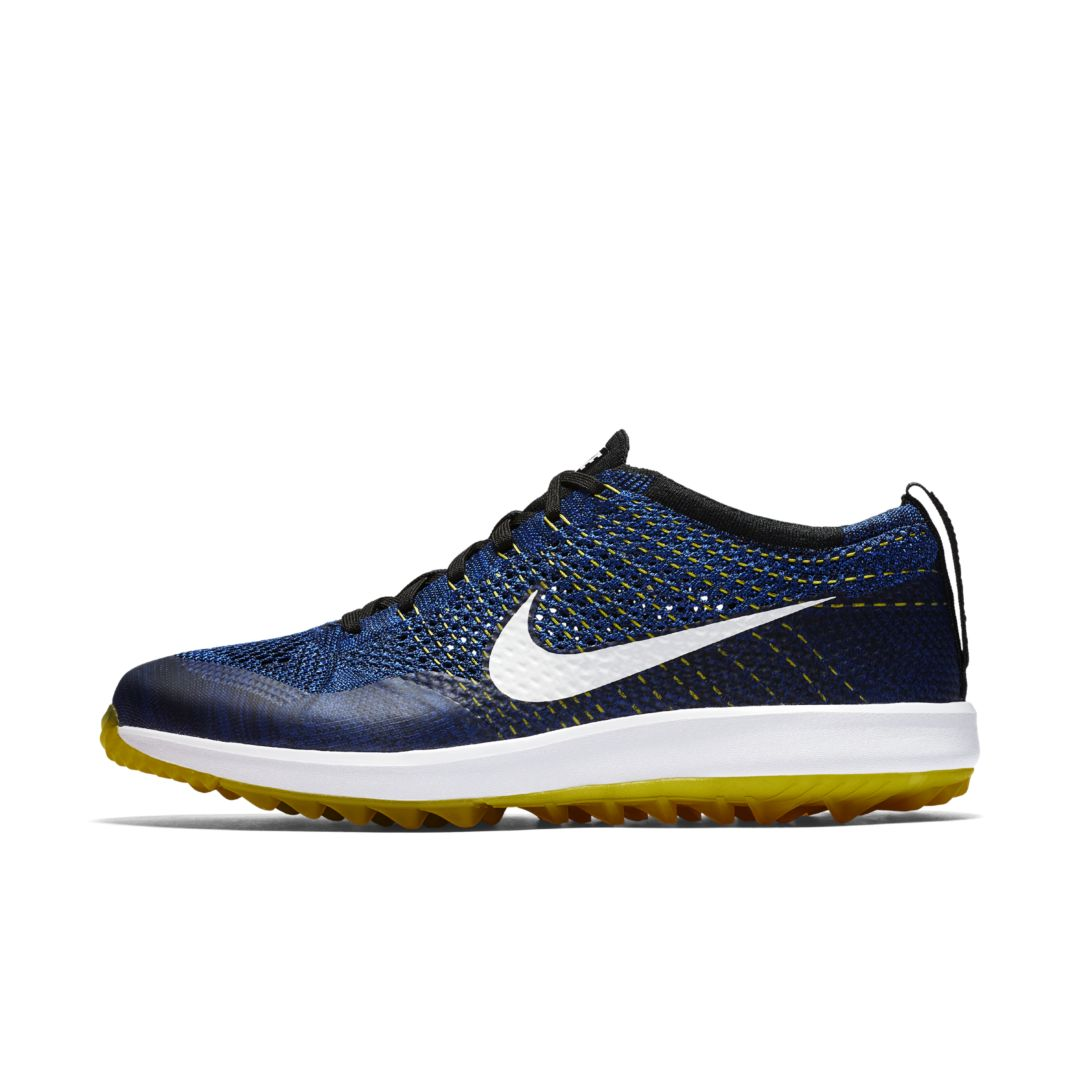 ba696b86f33ea Nike Flyknit Racer G Men s Golf Shoe Size 11.5 (College Navy ...