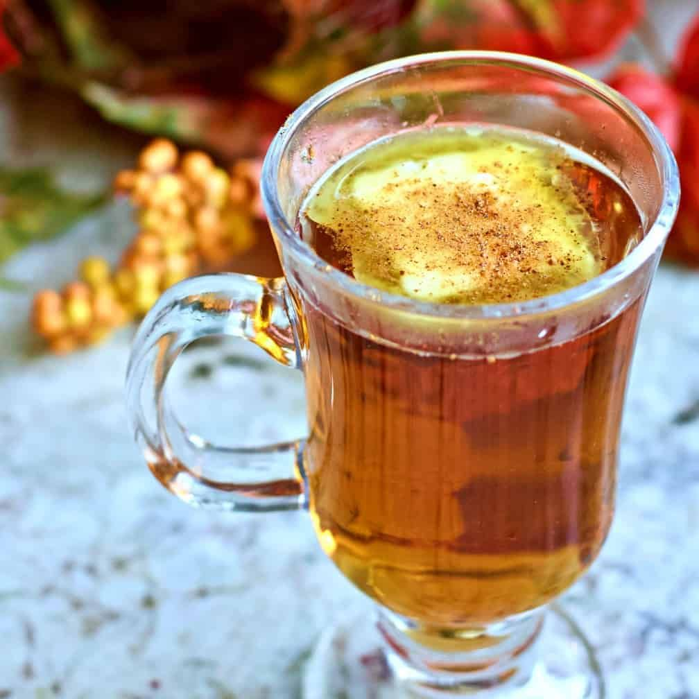 This Hot Buttered Rum Recipe Is Made With Flavorful Dark