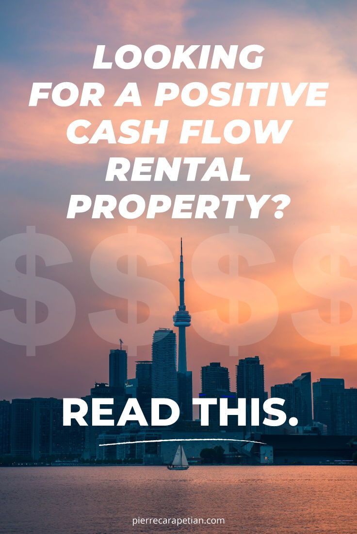 Looking for a positive cash flow investment property in