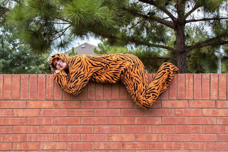 The Tiger Suit – Un photographe demande à des inconnus de poser en costume de tigre