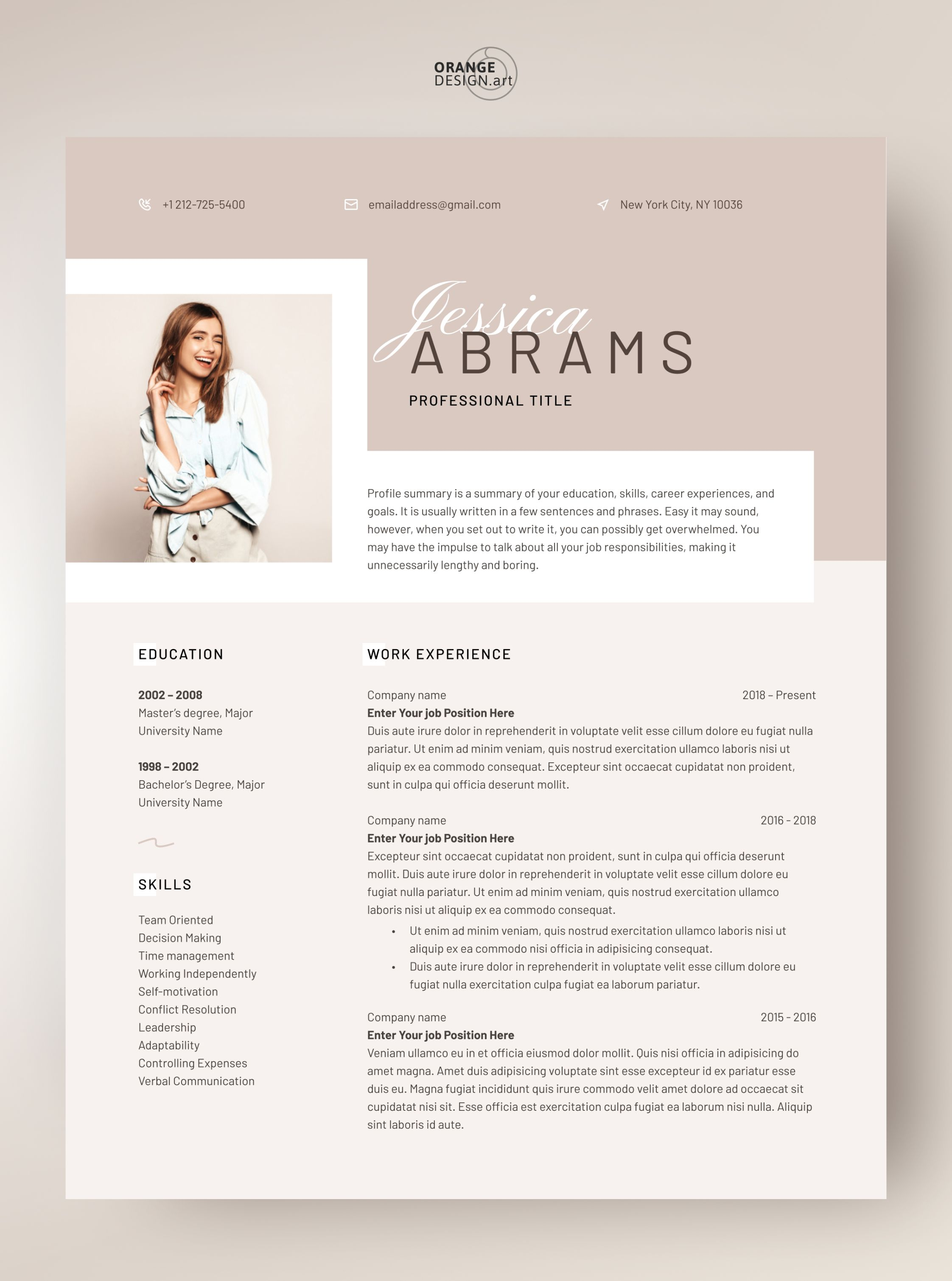 Resume Template Word 2020 Professional Cv Template With Etsy Resume Template Word Resume Template Cv Template Professional