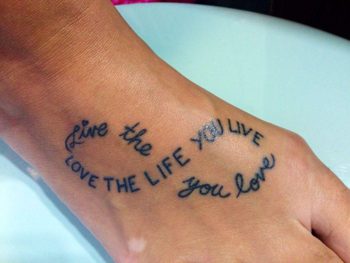 Foot Tattoo!