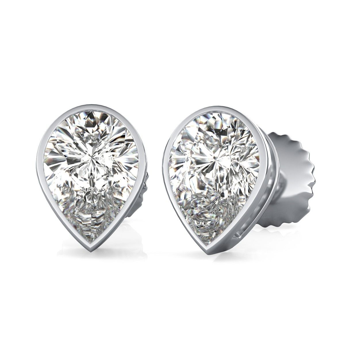 j stud l org earrings diamond jewelry for set halo sale at id bezel