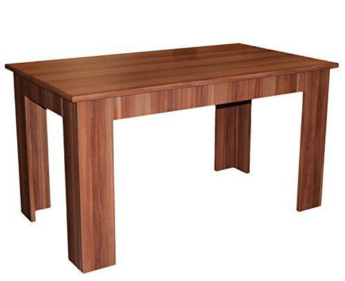 Esstisch Esszimmertisch Tisch Küchentisch Esszimmer Holz Kernnussbaum  Nussbaum 140x80cm