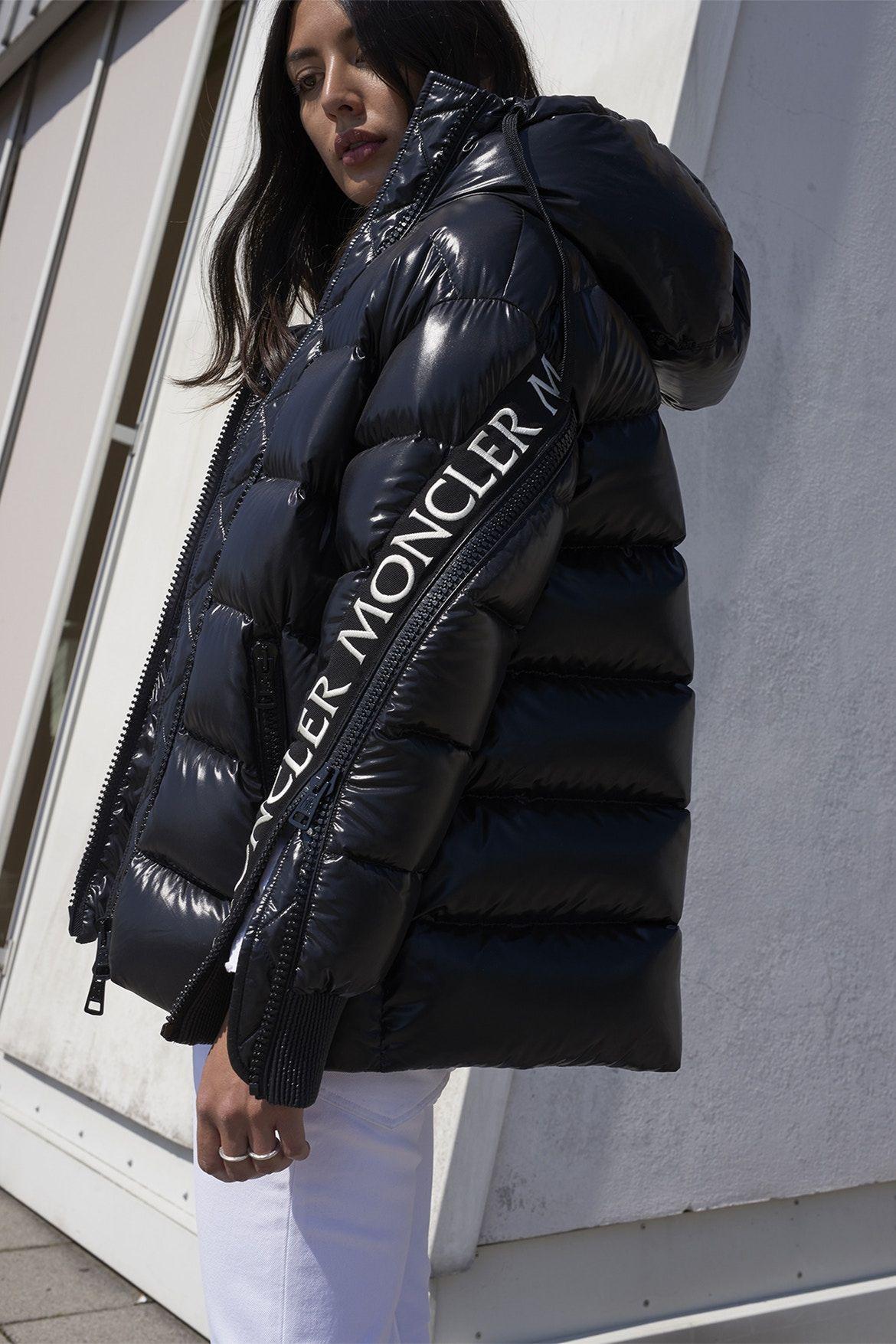b161c94133f Image result for moncler bandolvarsity jacket Doudoune Moncler Femme
