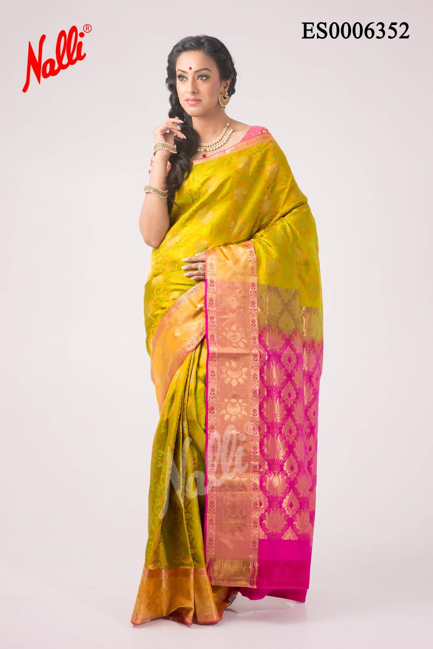 5f073ec4fd2095 Silk Saree from Nalli