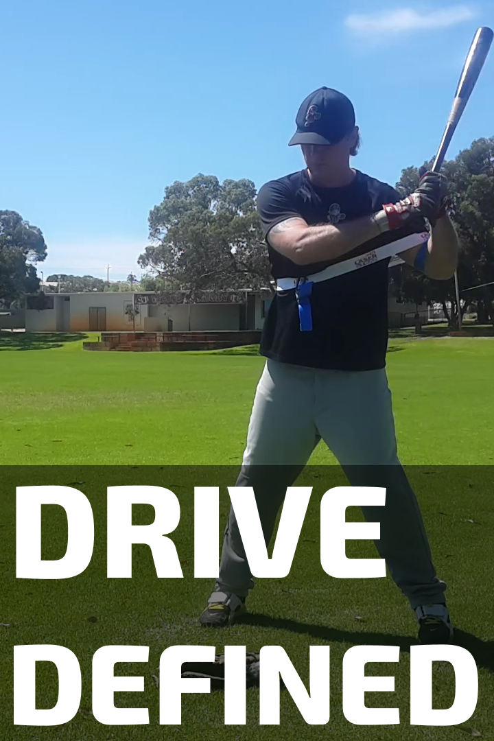 Drive Defined Swing Trainer Coaching Baseball