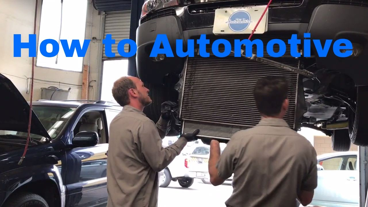 How To Replace The Radiator On A 2002