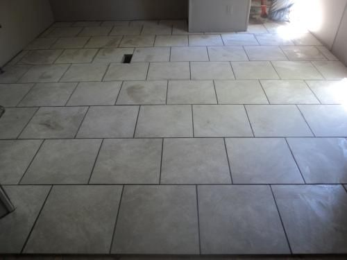 Trafficmaster Portland Stone 18 In X Glazed Ceramic Floor And Wall Tile 17 44 Sq Ft Case Ulmk At The Home Depot
