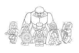 Billedresultat For Lego Avengers Coloring Pages Com Imagens