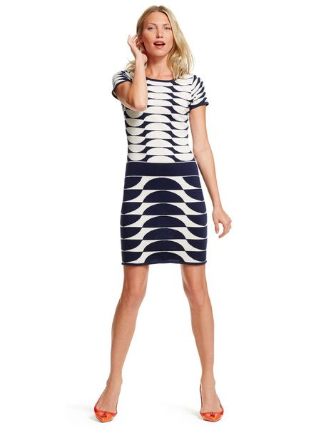 Sixties Tunic Dress Wh796 Smart Day Dresses At Boden Boden S Swing