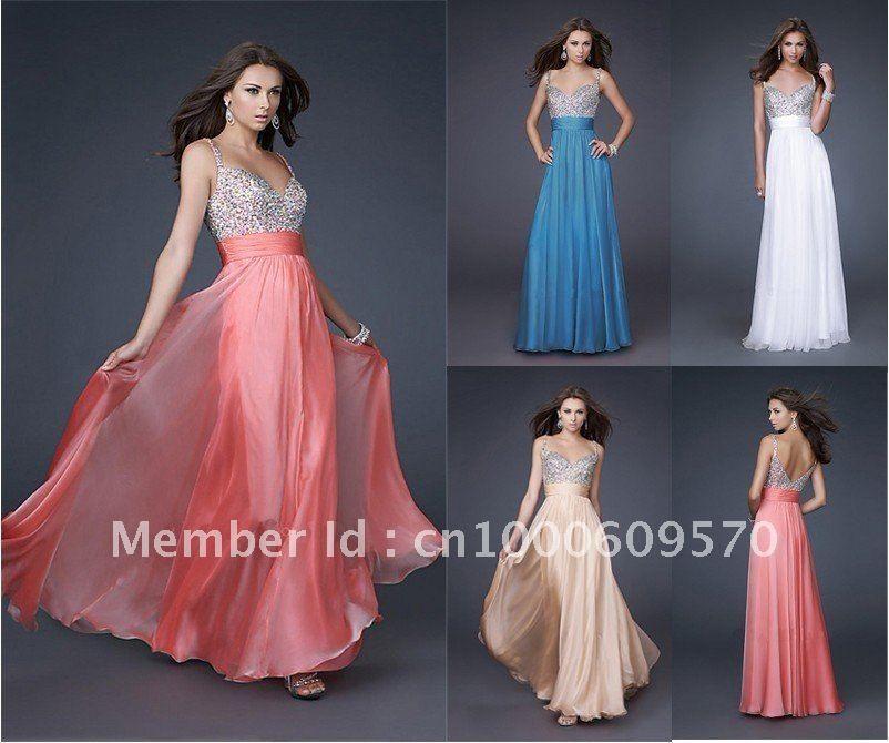 Long dress party