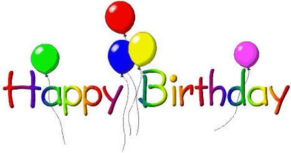 birthday clip art holidays 3 hangulatjel nnepek pinterest rh pinterest com au free 40th birthday clipart images free animated birthday clipart images