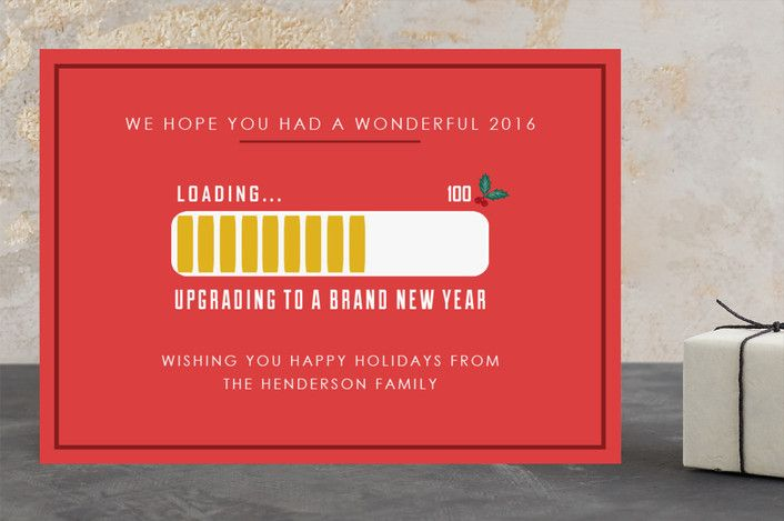 Loading Holiday Cards by Elly at minted.com
