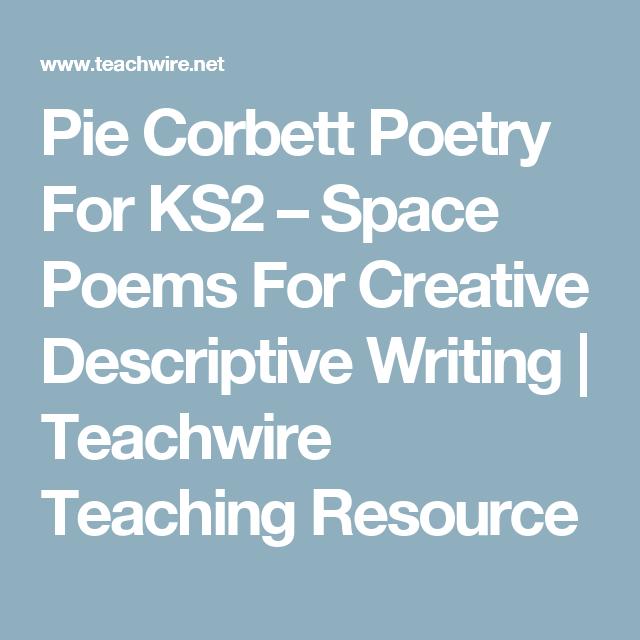 pie corbett poetry for ks2 space poems for creative descriptive writing teachwire teaching. Black Bedroom Furniture Sets. Home Design Ideas