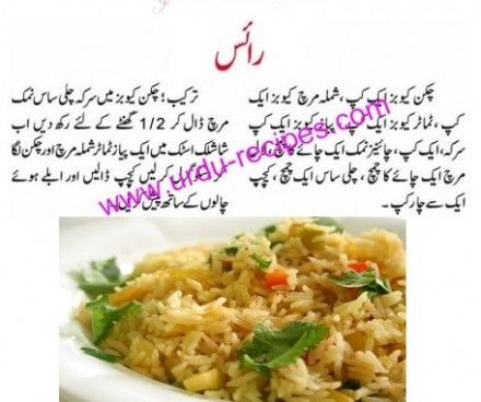 Easy Food Recipes In Urdu