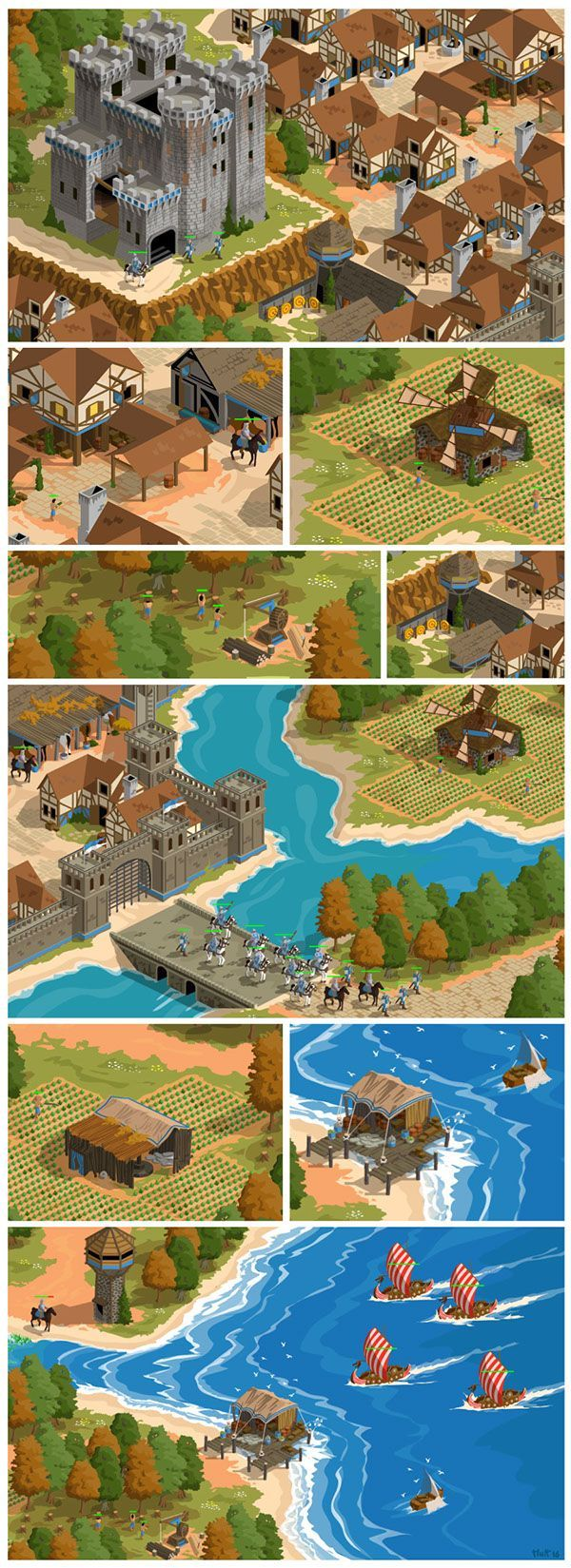 A Fanart About Age Of Empires 2 Age Of Kings Age Of Empires