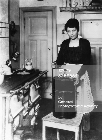 GERMAN Housewife in the Kitchen