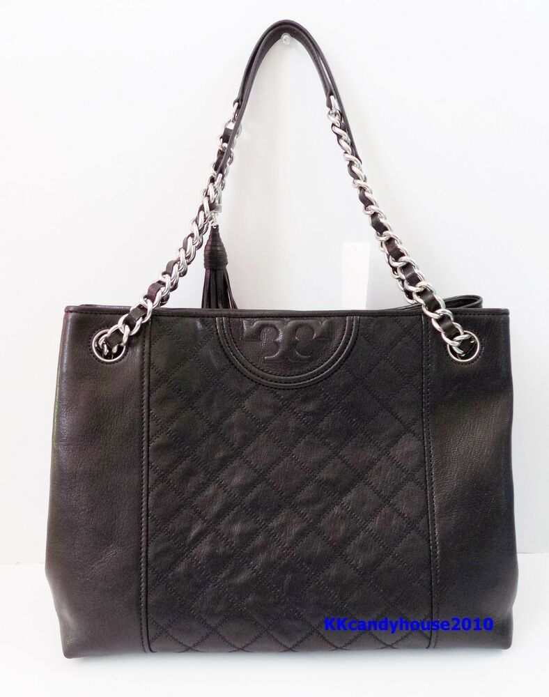 Ebay Ad Nwt Tory Burch Fleming Distressed Leather Tote