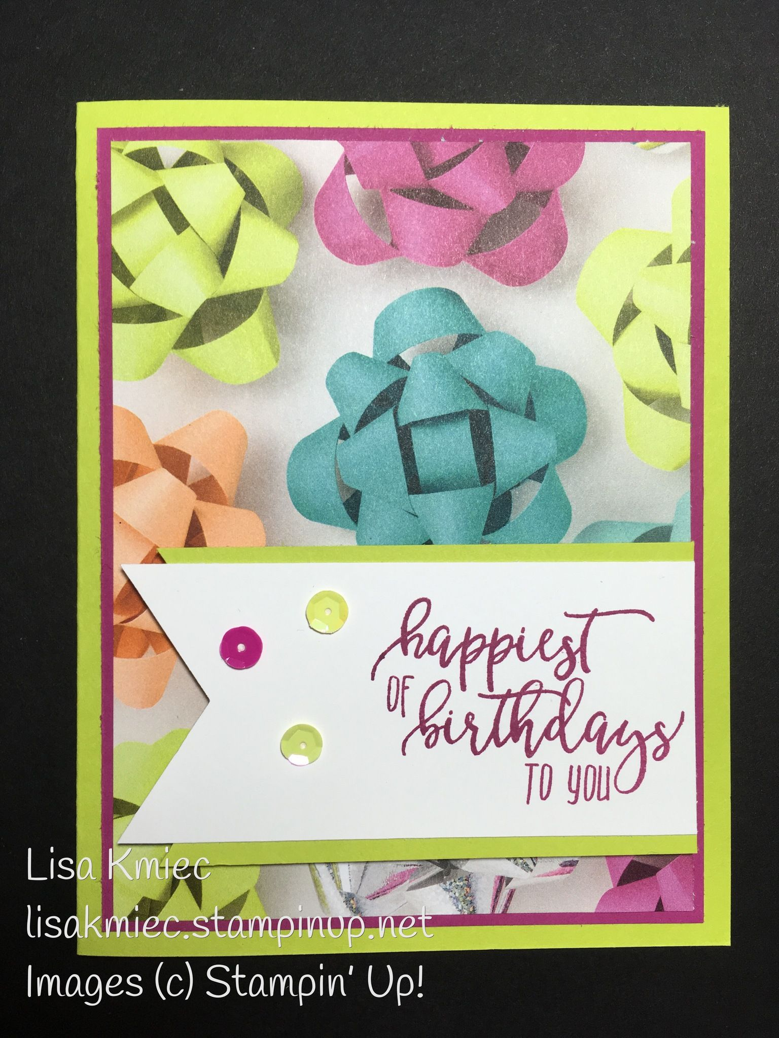 Picture Perfect Birthday From Stampin Up 2018 Occasions Catalog