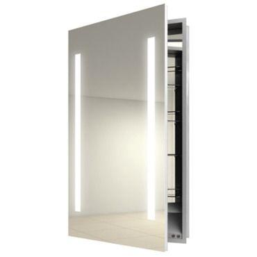 Ascension Left Recessed Medicine Cabinet Electric Mirror At Lightolo Recessed Medicine