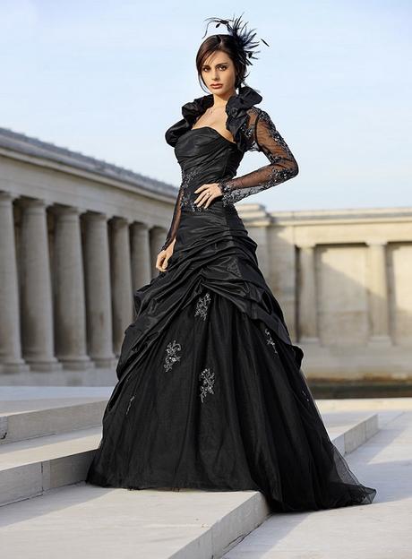 Schwarzes Brautkleider Kleider Hochzeit Schwarzes Brautkleid Schwarze Hochzeit