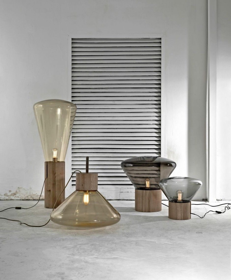 Anything with blown glass_Muffin Lamps by Dan Yeffet and Lucie Koldova