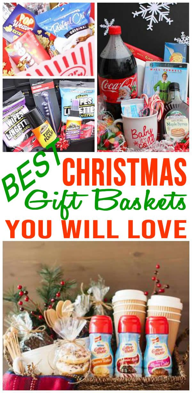 Photo of Christmas Gift Basket Idea