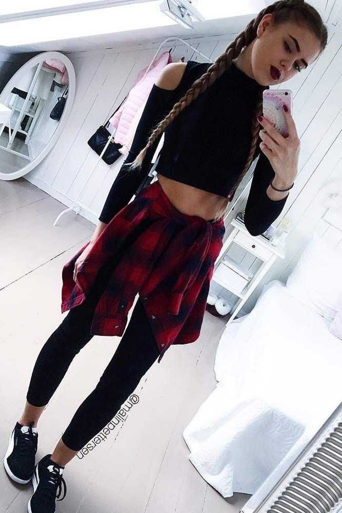 9efbe2d3d09 Cool Back to School Outfits Ideas for the Flawless Look ☆ See more  http