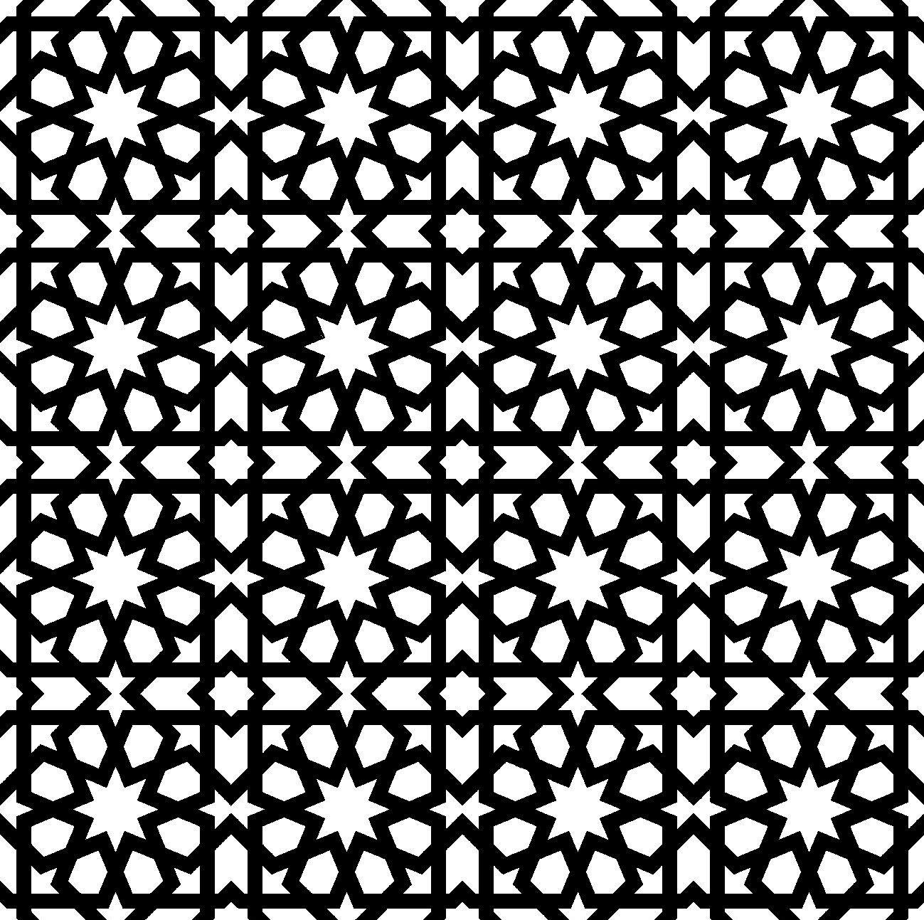 Oriental Geometric Pattern Orientalische Muster Muster Orientalisch