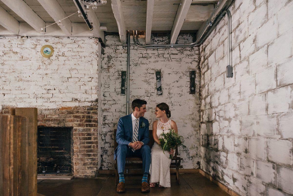 Rachel+Adam's Lucas Confectionery Wedding Industrial