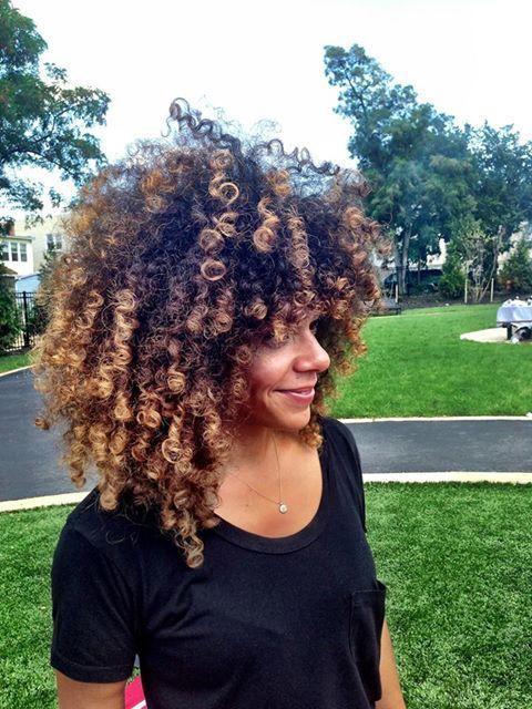 [NATURAL HAIR] Curls galore! #naturalhair #curls #styleinspiration #blackisbeautiful