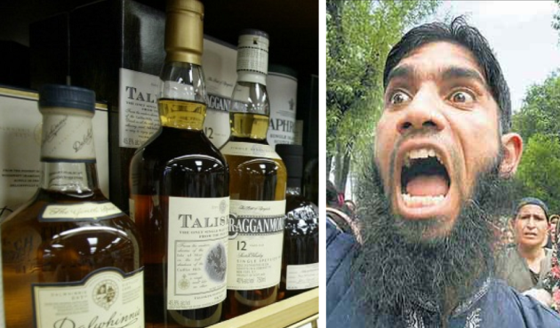 BITE ME: Islamists Threaten British Shop Owners with 40 Lashes for Selling Alcohol | Clash Daily