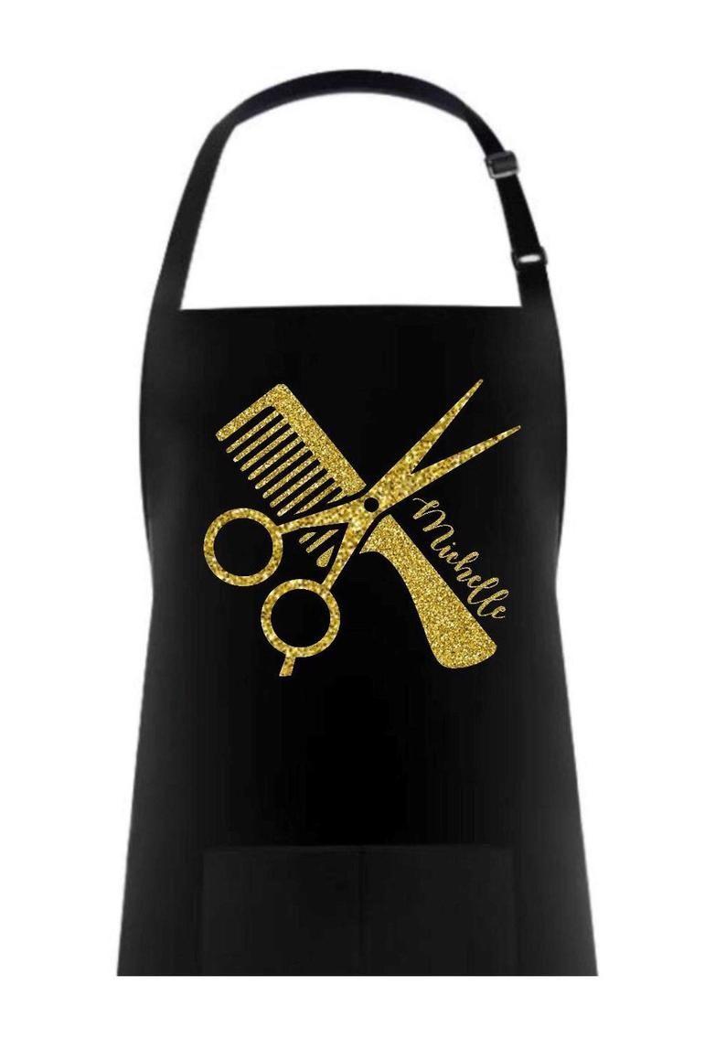 Custom hair stylist apron hair stylist apron hair