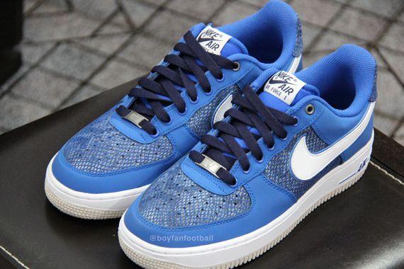 online store 5aac2 de80b Nike Air Force 1 Low – Blue Snakeskin