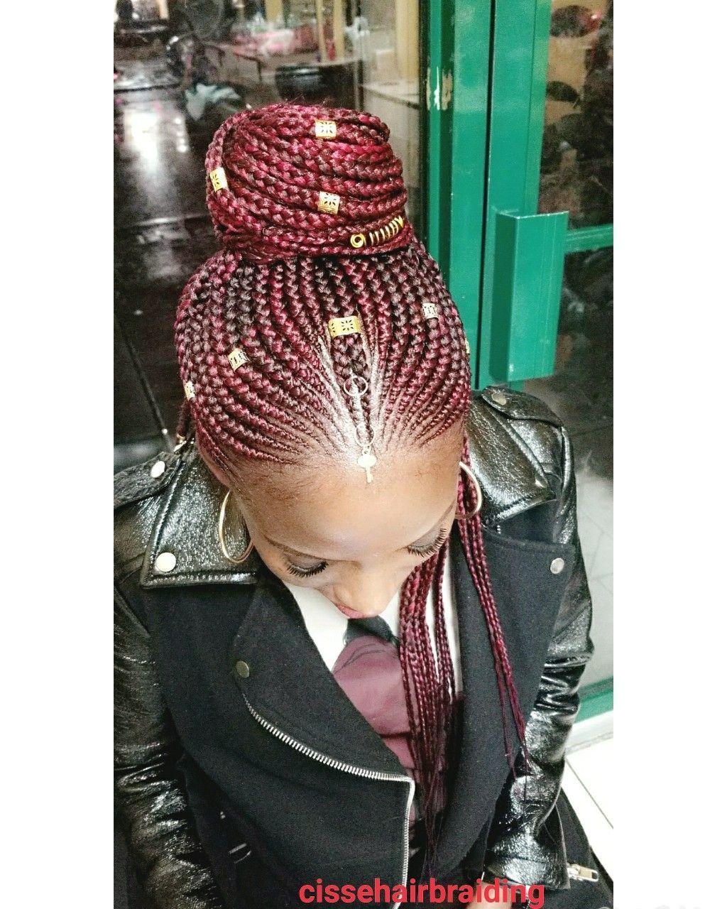 awesome fulani braids hairstyle hair pinterest braids