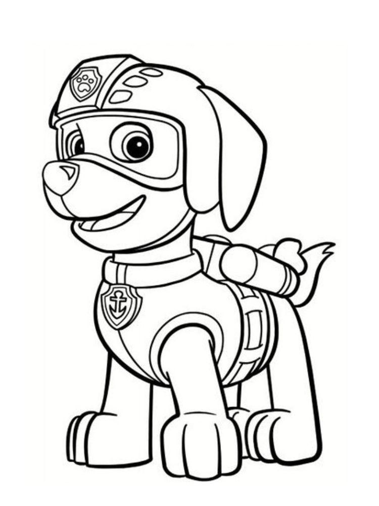 Des coloriages pat patrouille imprimer gratuitement pour vos enfants pour imprimer un - Coloriage a imprimer enfant ...