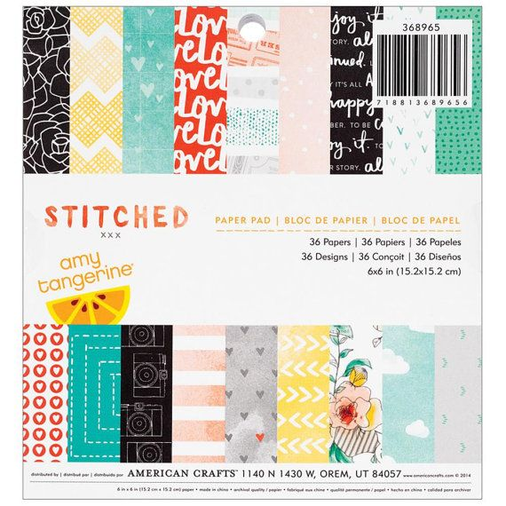 AC Amy Tangerine STITCHED Collection 6x6 by SeptemberPlayground
