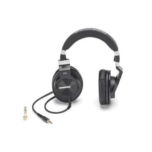 Samson Z55 Professional Reference Headphones, Grey chrome - professional reference