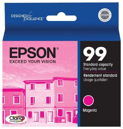Epson 99 Magenta Ink Cartridge for the Epson Artisan 700 and Artisan 800 Printers