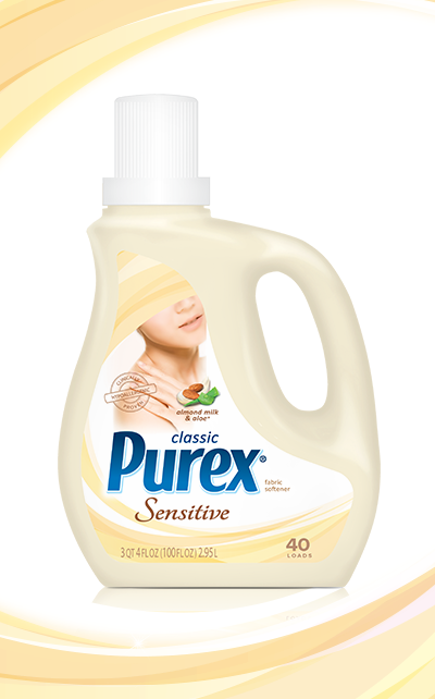 Classic Purex Fabric Softener For Sensitive Skin Almond Milk